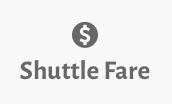 shuttle fare